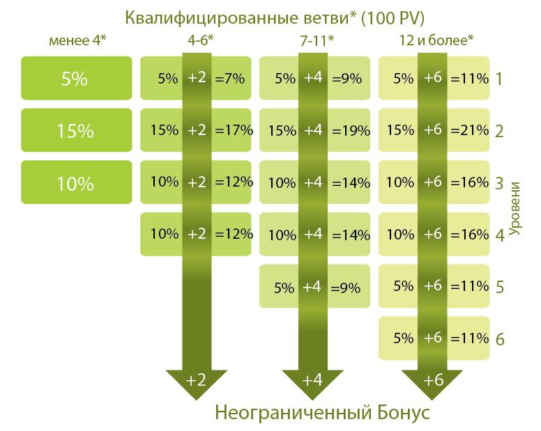Маркетинг план Ньювейс, Малтиплекс бонус